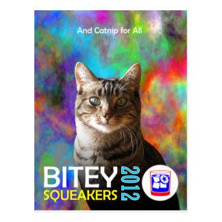 El Bitey la postal 4 TM del boleto de los Squeak