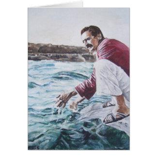 El bizcocho borracho de Meher sumerge en su océano Tarjeta De Felicitación