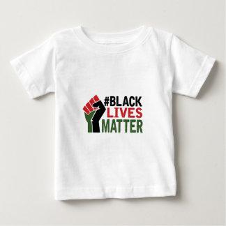El #Black vive materia Playera De Bebé
