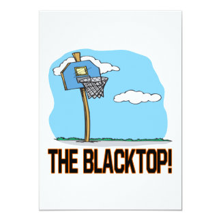 """El Blacktop Invitación 5"""" X 7"""""""