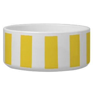 El blanco amarillo XL de la piña raya el modelo Boles Para Gatos