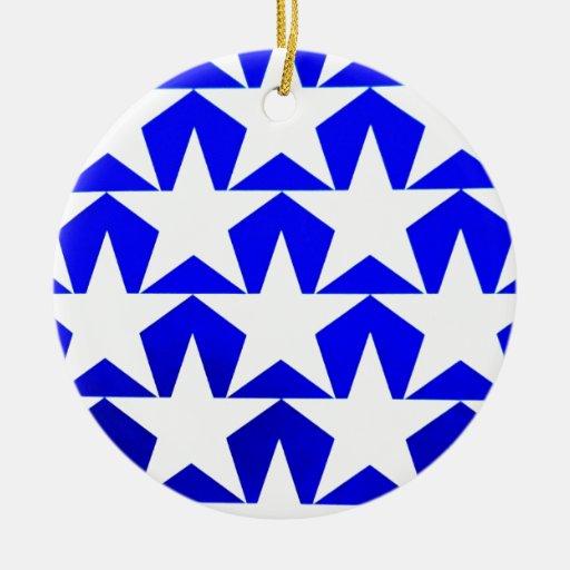 El blanco azul patriótico protagoniza el 4to de la adorno de reyes