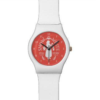 El | blanco como la nieve aún el más justo relojes de pulsera