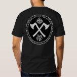 El blanco del guardia de Varangian cruzado Camisas