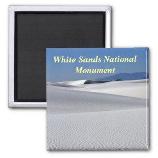 El blanco enarena el imán del monumento nacional