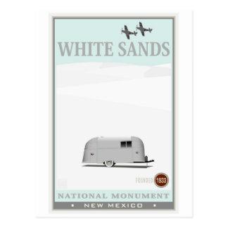 El blanco enarena el monumento nacional 1 postal
