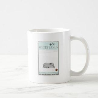 El blanco enarena el monumento nacional 1 tazas de café