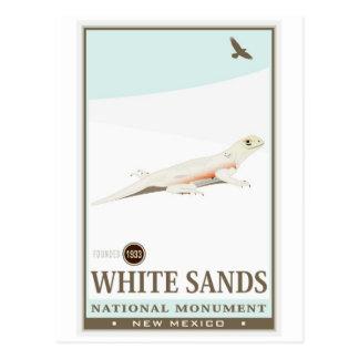 El blanco enarena el monumento nacional 2 postal