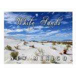 El blanco enarena el monumento nacional, New Méxic