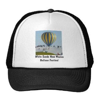El blanco enarena festival del globo del aire cali gorro de camionero