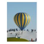 El blanco enarena festival del globo del aire cali postales