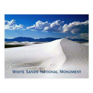 El blanco enarena la postal del monumento nacional