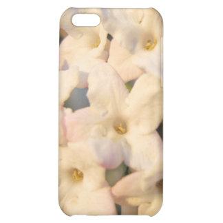 El blanco florece caso del iPhone 4G