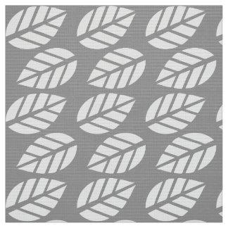 El blanco gris deja la tela del modelo telas