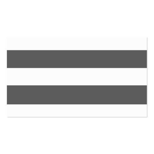 El blanco gris moderno de carbón de leña raya el m tarjetas de visita
