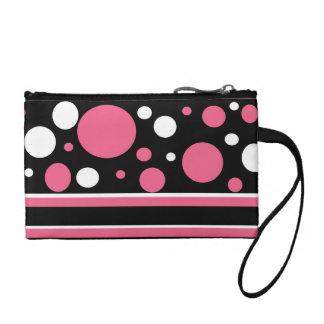 El blanco negro rosado lindo raya el modelo de