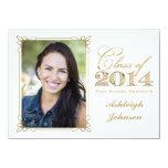 El blanco, oro, graduación 2014 de la foto del comunicado personal