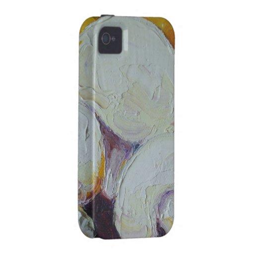 El blanco prolifera rápidamente caso del iPhone 4 Case-Mate iPhone 4 Carcasa