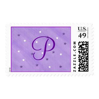 El blanco púrpura protagoniza sellos de la plantil
