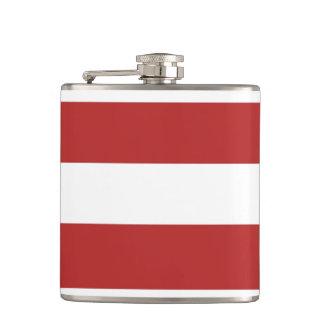 El blanco rojo moderno raya el rojo y el whi de Pa