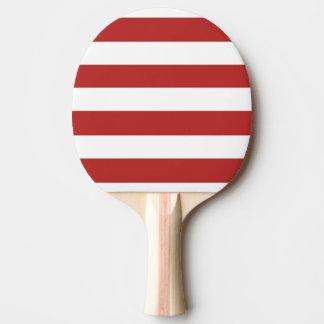 El blanco rojo moderno raya el rojo y el whi de Pa Pala De Ping Pong