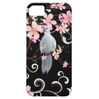 El blanco se zambulló en flores del Dogwood Funda Para iPhone SE/5/5s