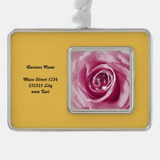 el bling de moda en (i) color de rosa, rosado adornos navideños
