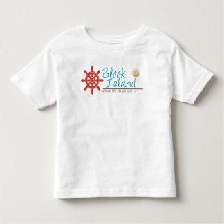 El Block Island embroma el camisetas