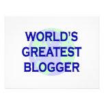 El Blogger más grande del mundo Invitación Personalizada