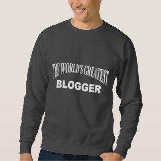 El Blogger más grande del mundo Sudaderas Encapuchadas