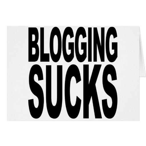 El Blogging chupa Felicitacion
