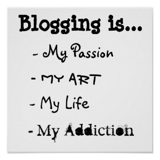 El Blogging es… Poster
