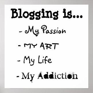 El Blogging es… Poster Póster