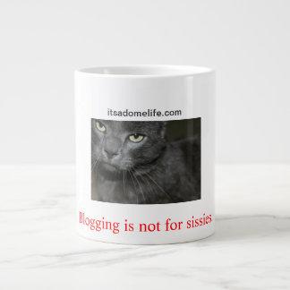 El Blogging no está para el gato de las mariquitas Taza Grande