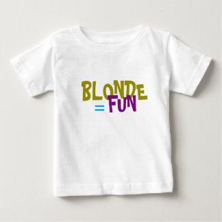 El Blonde iguala la camiseta de la diversión