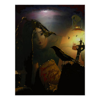 El Bloodline del cuervo Posters