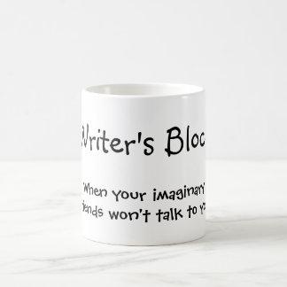 El bloque del escritor - cuando sus amigos taza