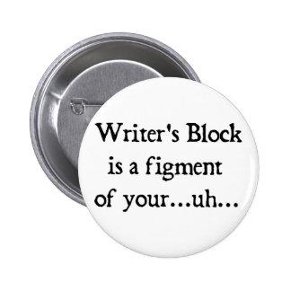 El bloque del escritor pin redondo 5 cm