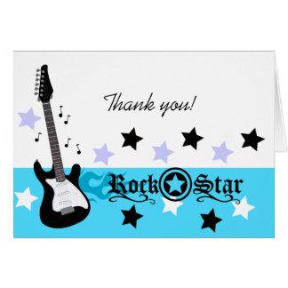 El *Blue* de la guitarra de la estrella del rock l Tarjeton