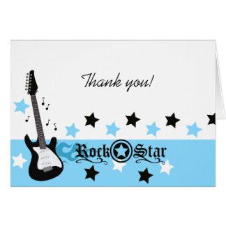 El *Blue* de la guitarra de la estrella del rock l Felicitaciones