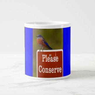El Bluebird, conserva por favor Taza Grande