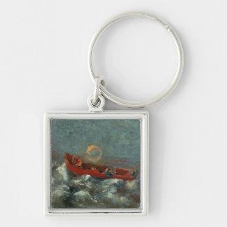 El Boat rojo, 1905 Llavero Personalizado