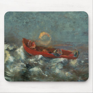 El Boat rojo, 1905 Alfombrilla De Ratones
