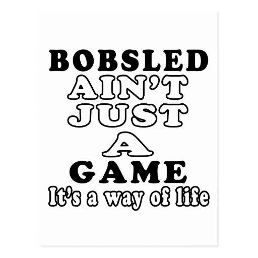 El Bobsled no es apenas un juego que es una manera Tarjetas Postales