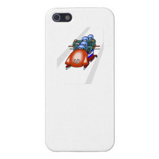 El Bobsledding iPhone 5 Cárcasas