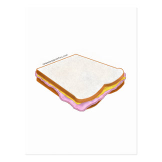 El bocadillo de jamón postal
