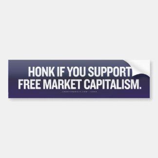 El bocinazo gratis comercializa a la pegatina para pegatina de parachoque
