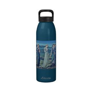 El boda 1855 de la psique botella de agua reutilizable