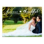 El boda agradecido de la foto le agradece para sie