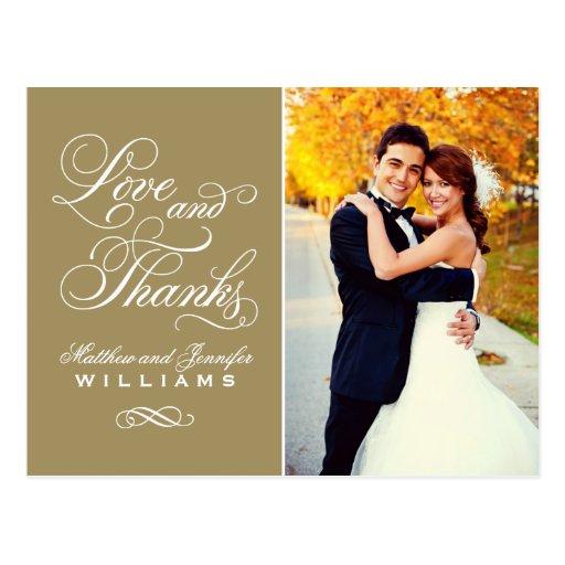 El boda antiguo del amor y de las gracias el | le tarjetas postales